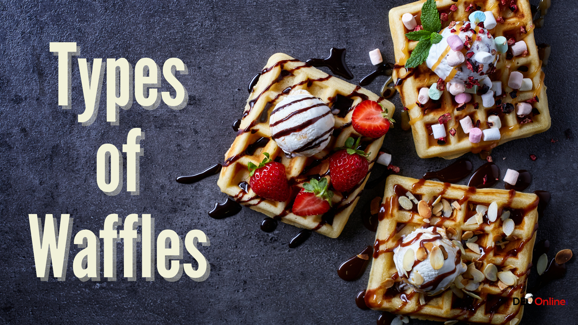 Types of Waffles
