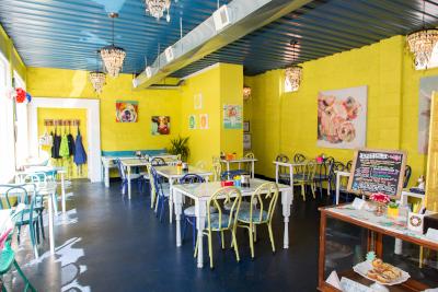 Blue Spoon Café Interior