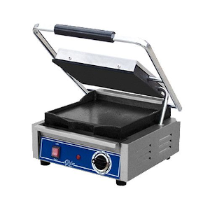 Sandwich Grill with Smooth Top and Bottom